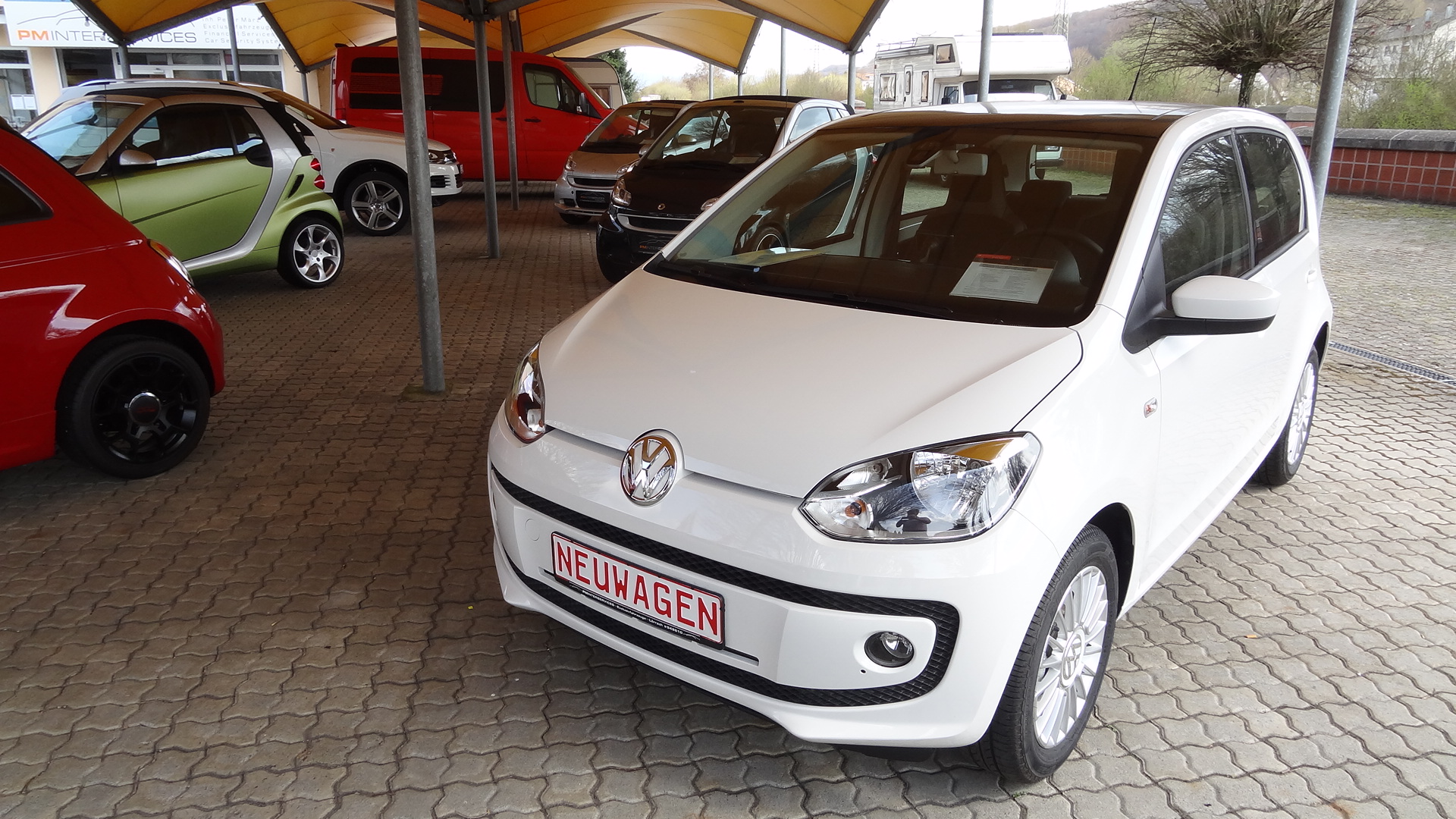 VW Up! (highweiss)