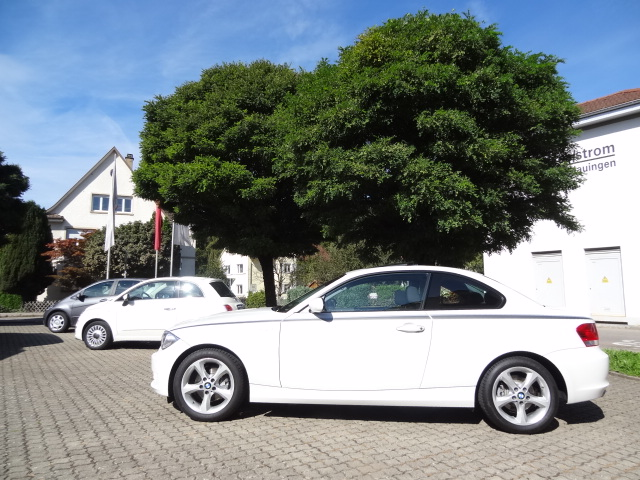 BMW 1er Coupe (weiss)