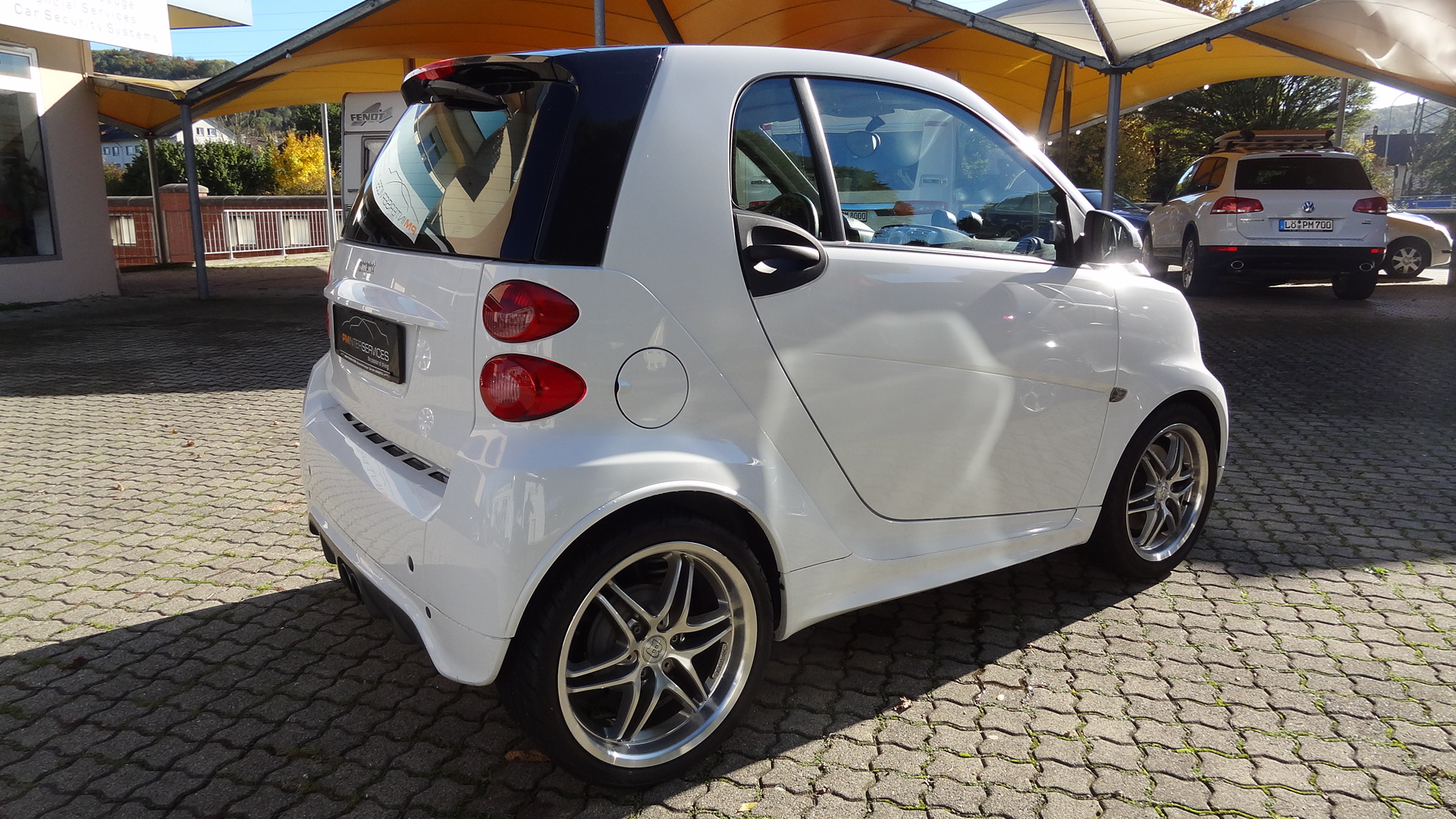 Smart 451 Coupé (weiss brabus)