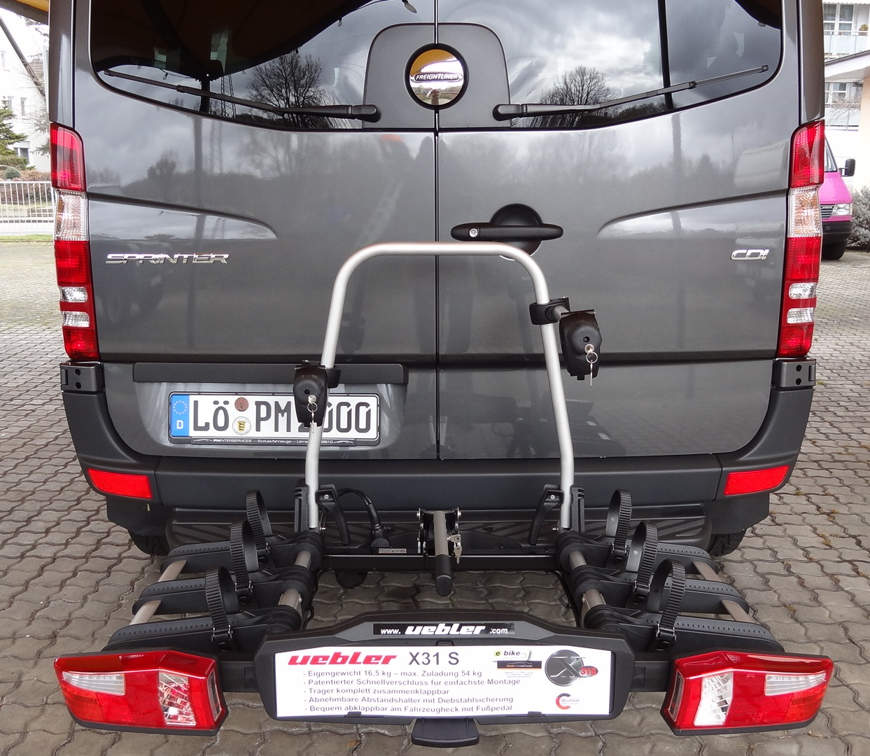 Uebler X31 S am Sprinter